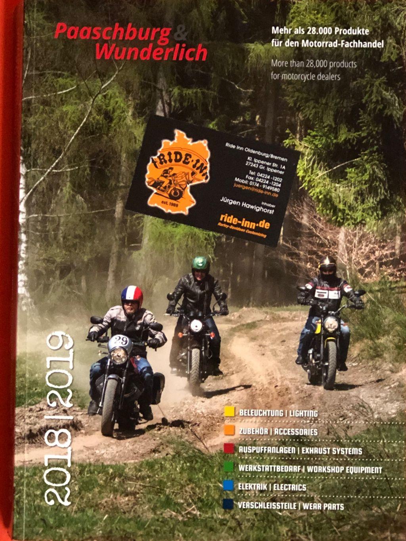 Katalog Paaschburg und Wunderlich 2018 19